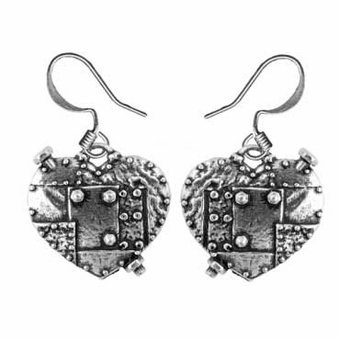 Fearless Heart Earrings