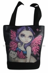 Ferret with Wings Handbag