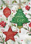 Festive Ornaments Christmas Cards