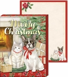Festive Pets Pocket Notepad