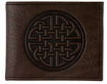 Fine Celtic Leather Wallet