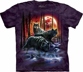 Fire & Ice Wolves T-Shirt