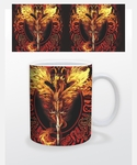 Flame Blade Dragon Coffee Mug