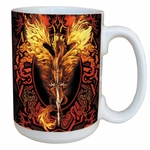 Flame Blade Dragon Mug