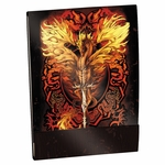 Flame Blade Dragon Pocket Notepad