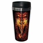 Flame Blade Dragon Travel Mug