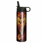 Flame Blade Dragon Water Bottle