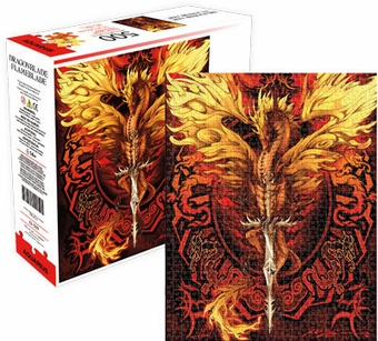 Flameblade Dragon Puzzle (500 pcs)