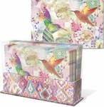 Floraculture Desk Caddy Note Card Set