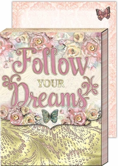 Follow Your Dreams Pocket Note Pad