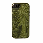 Forest Leather iPhone Case