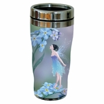 Forget-Me-Not Fairy Travel Mug