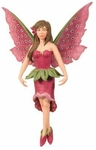 Foxglove Diva Fairy Ornament