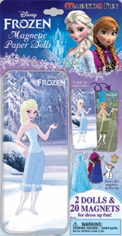 Frozen Magnetic Paper Doll Set