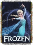 Queen of Ice Tapestry Throw Blanket - Frozen