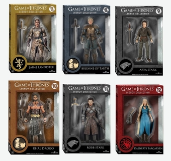 Game of Thrones Legacy Figures Set 2