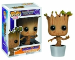 Funko POP! Marvel: Dancing Groot Bobble Action Figure