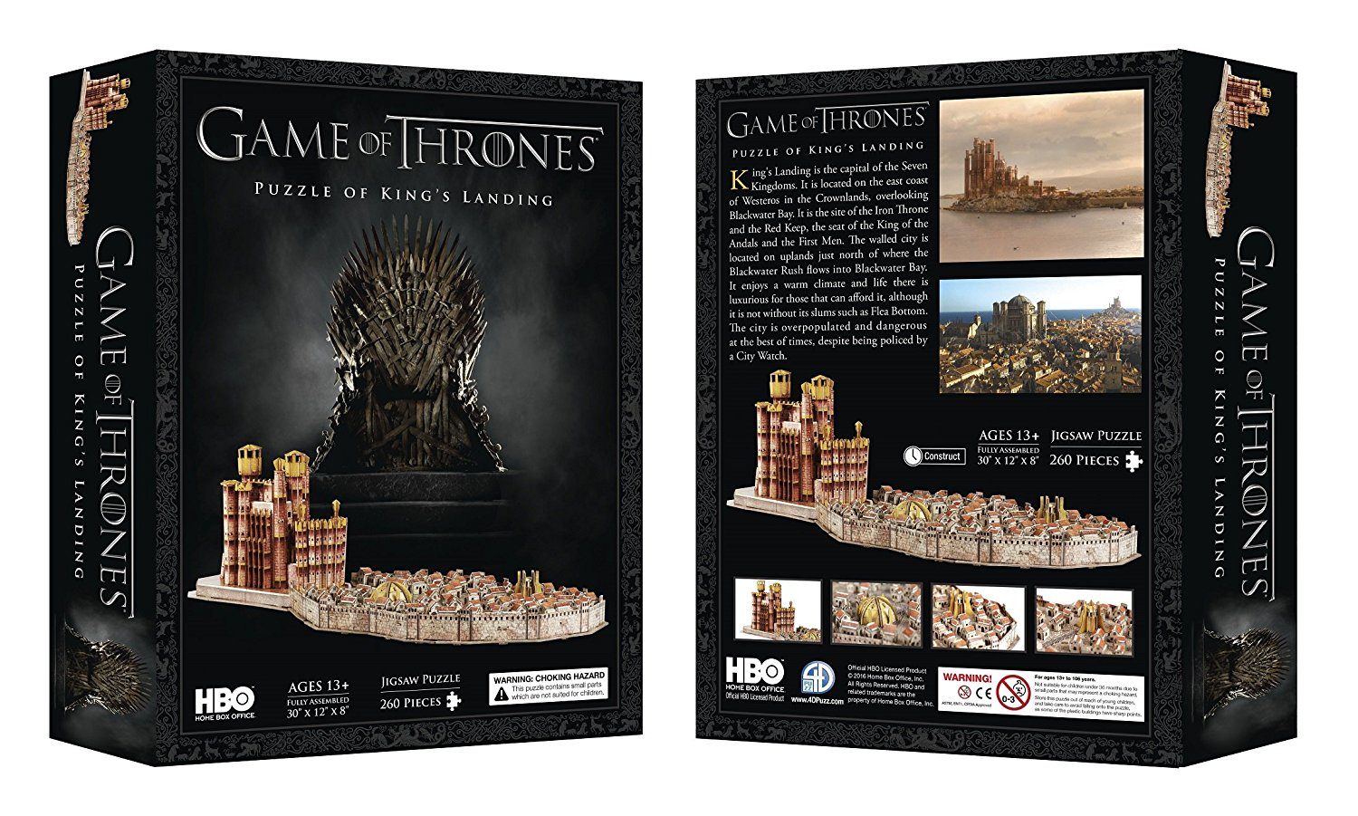 Game of Thrones King/'s Landing 3D Jigsaw Puzzle