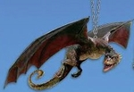 Game of Thrones Dragon Ornament
