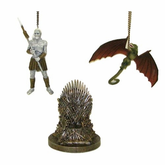 Game of Thrones Ornament Set