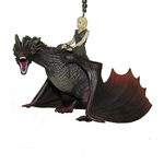 Game of Thrones Drogon with Daenerys Christmas Ornament