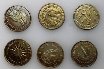 Westeros Household Half-Penny Coin Set