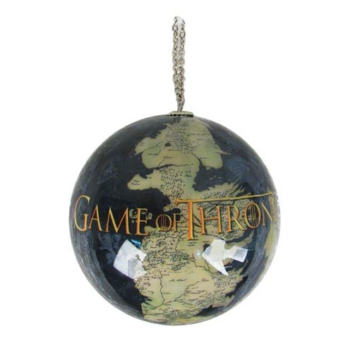 Westeros Map Ornament: Game Of Thrones Gifts: FairyGlen.com