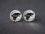 Winter is Coming Stark Cufflinks: Game of Thrones