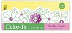 Garden Fairies Color-In Crowns