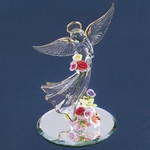 Glass Angel's Flower Garden