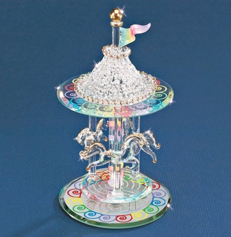 Glass Carousel