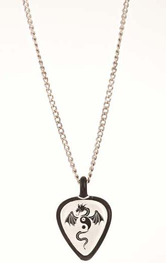 timberwolf picks guitar gray necklace pickbandz just in necklaces pop pick and rock custom your on holder
