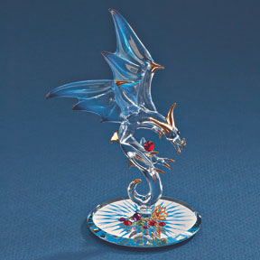 Glass Jewel Keeper Dragon
