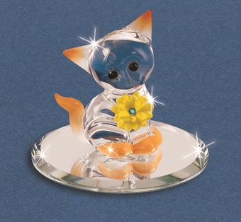 Glass Sunshine Kitty