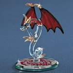 Glass 'Tiny Terror' Dragon