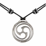 Goddess Spiral Necklace
