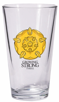 Tyrell Pint Glass: Game of Thrones