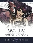 Gothic Dark Fantasy Coloring Book