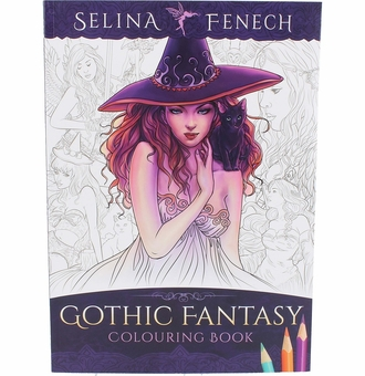Gothic Fantasy Coloring Book