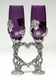Grape Vine Heart Flutes