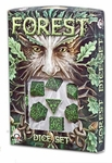 Greenman Dice / Forest Dice Set