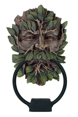 Greenman door knocker by julie fain - Greenman door knocker ...