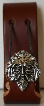 Greenman <BR>Leather Mug Holder