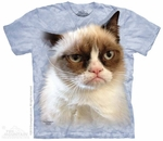 Grumpy in Blue T-Shirt