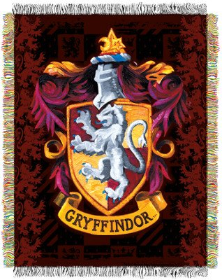 Gryffindor tapestry throw blanket harry potter gifts - Harry potter blason ...