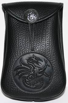 Gryphon Leather Belt Pouch (Deep)