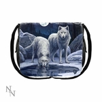 Warriors of Winter Wolf Messenger Bag
