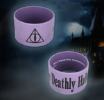 Harry Potter Rubber Bracelet:Deathly Hallows