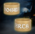 "Harry Potter DH2 – Thick Rubber Bracelet – ""Hogwarts Latin"""