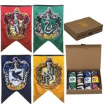 Harry Potter House Crests Wall Banner Gift Set - Set of 4